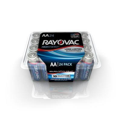 Home depot: Rayovac Alkaline AA Battery 24-Pack for $4 : buy online then pick up at a B&M