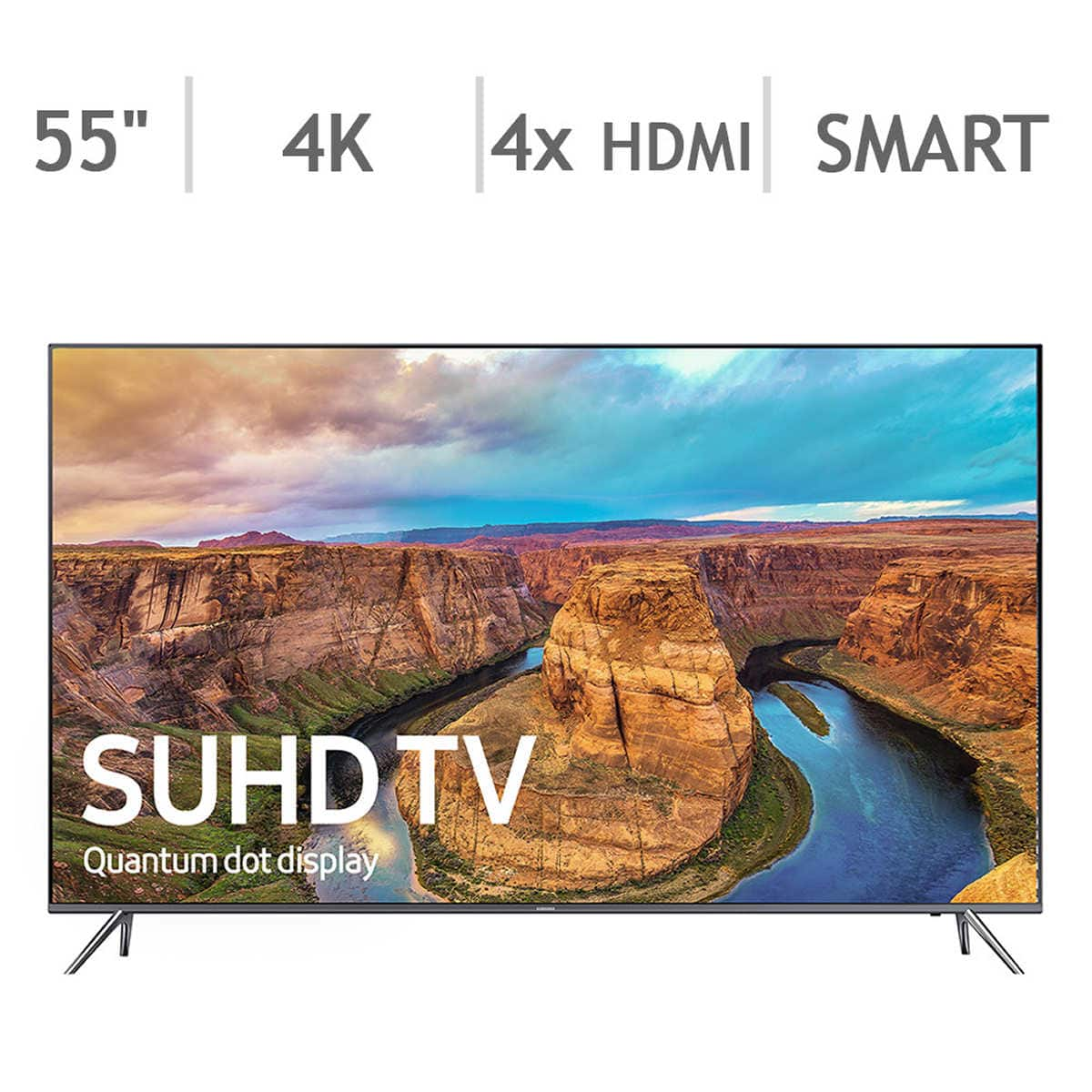 "Costco Samsung 55"" 4K SUHD UN55KS800DFXZA (Costco's version of KS8000) for $979.99"