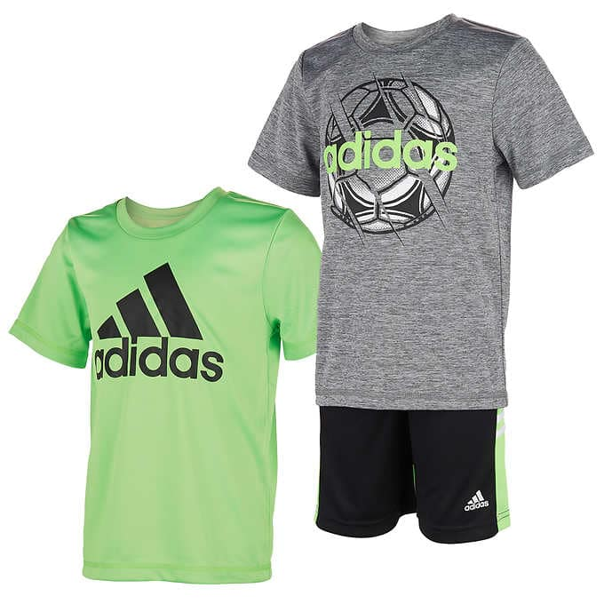 Adidas Kids 3 piece active set $16 at Costco shipped