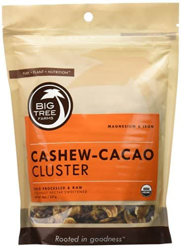 20% Off Big Tree Farms Cashew Cocoa Clusters and Hot Chocolate Mixes @ Amazon.com