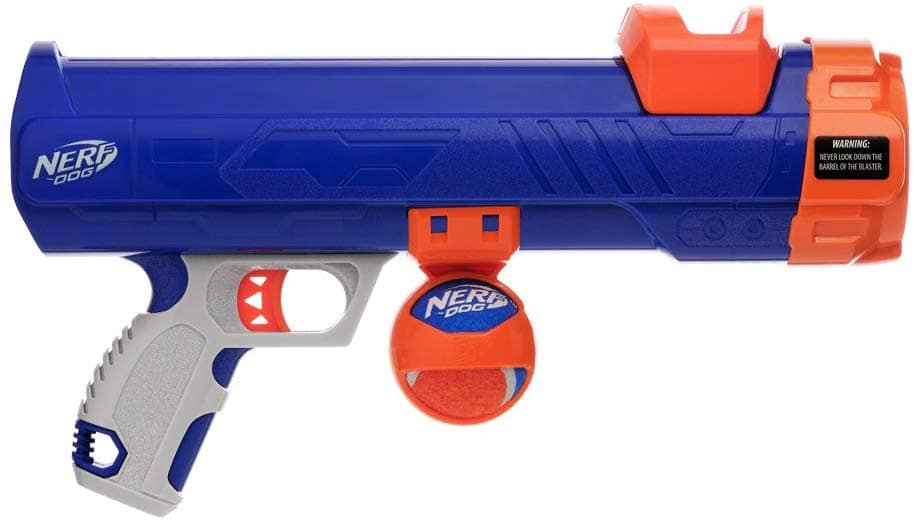 Nerf Dog Compact Tennis Ball Launcher on sale for $8.52 at Amazon.