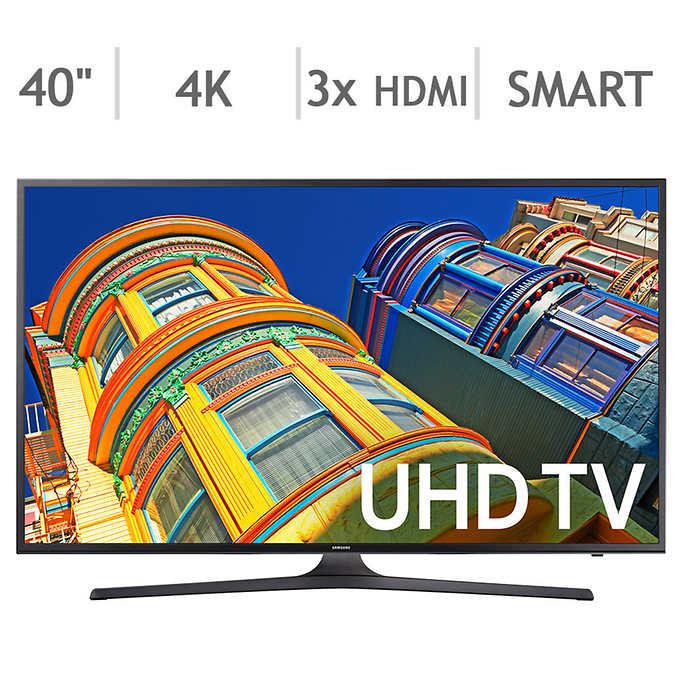 "COSTCO Samsung 40"" 4K Ultra HD LED LCD TV UN40KU6290D $272 (289.99-25.00 Costco coupon-5% Chase Freedom)"
