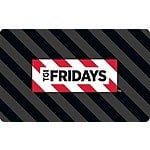 20% Off a $50 TGI Friday's Gift Card - PayPal Digital Gifts