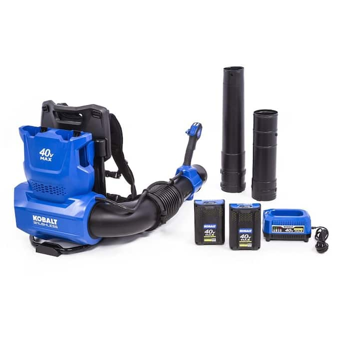 YMMV.  In Store Only.  Kobalt 40-Volt 135-MPH Brushless Backpack Cordless Electric Leaf Blower 4 Ah(Battery & Charger Included) $147.57 at Lowes