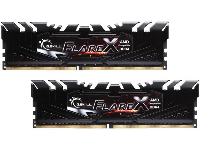 G.SKILL Flare X Series 16GB (2 x 8GB) DDR4 3200 AMD X370 $164.99