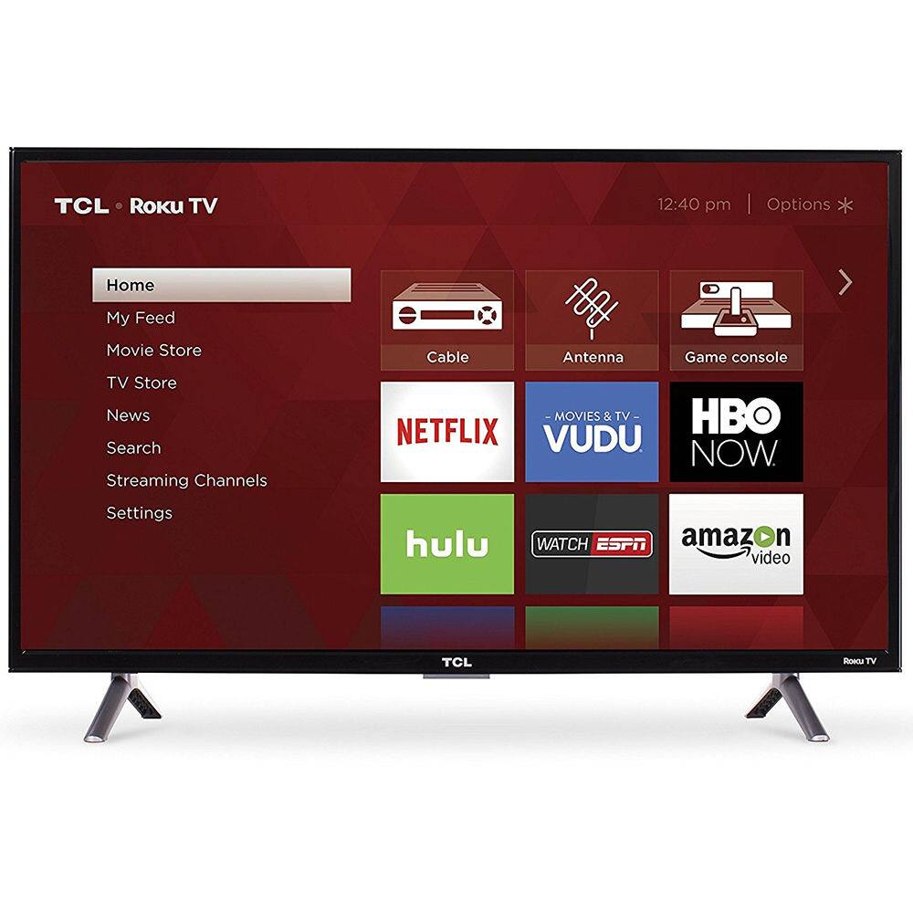 "TCL 32"" Roku TV 720p LED 32S305 - $107.10 + Free Shipping - eBay"