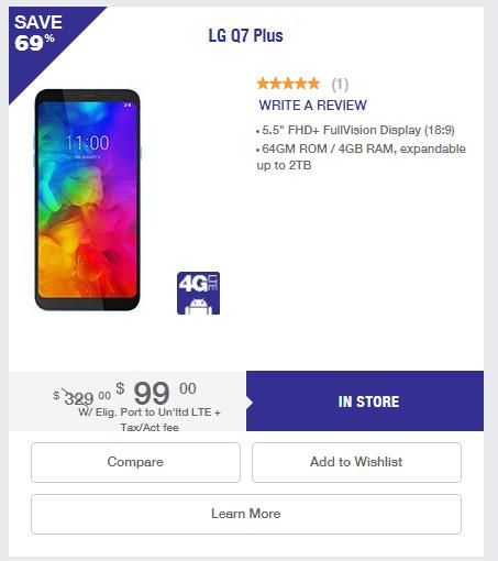 MetroPCS Port event - Samsung Galaxy S9 ($499), LG Q7 ($99