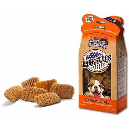 Loving Pets Barksters Sweet Potato and Liver Krisps, Dog Treat, 5-Ounce $1.83 at Amazon