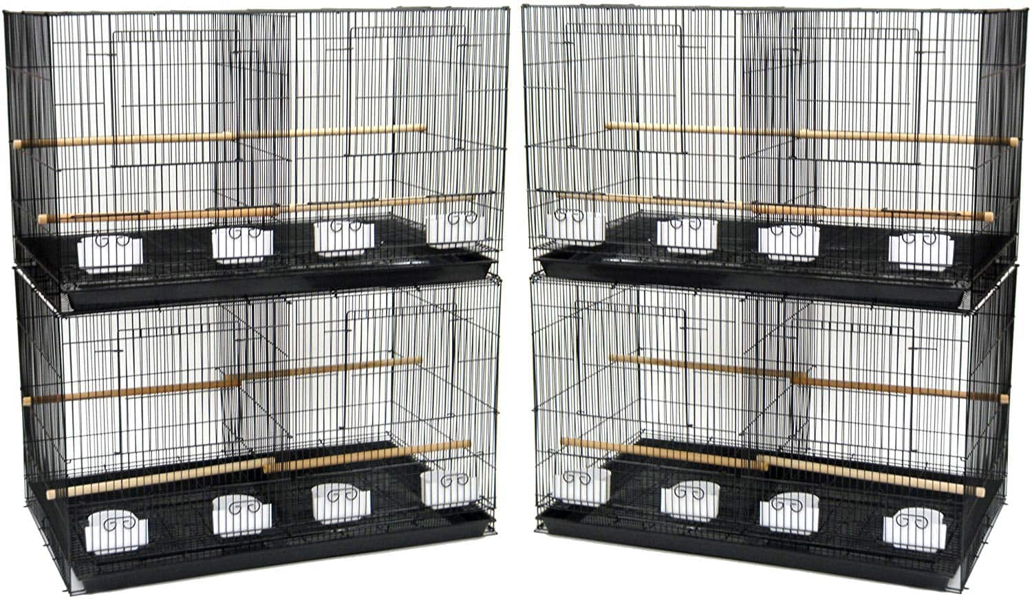 YML Medium Breeding Cages with Divider - Lot of 4 - $98.15 at Amazon + FS with Prime