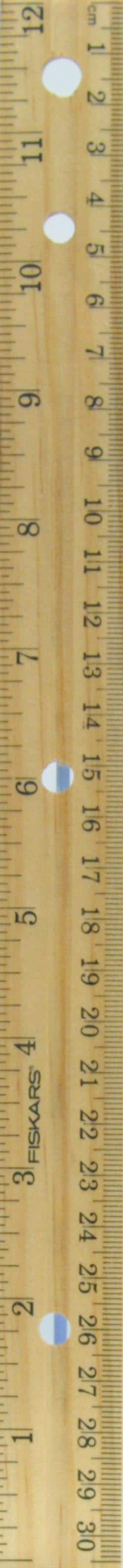 Fiskars wooden ruler at Amazon - $0.47 + FS