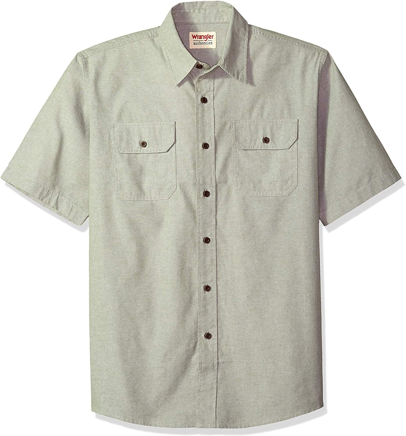 Wrangler Men's Short Sleeve Classic Twill Shirt - $3.00 + Free Shipping with Prime - Amazon