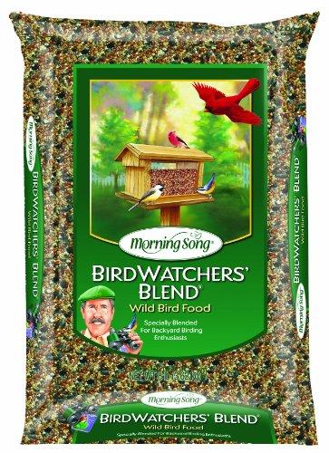 Morning Song 11957 Birdwatchers Blend Wild Bird Food, 8-Pound - $8.62 +FS at Amazon