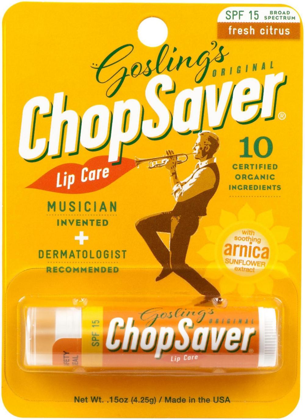 ChopSaver Lip Balm with SPF15 Sunscreen - $1.55 + FS at Amazon