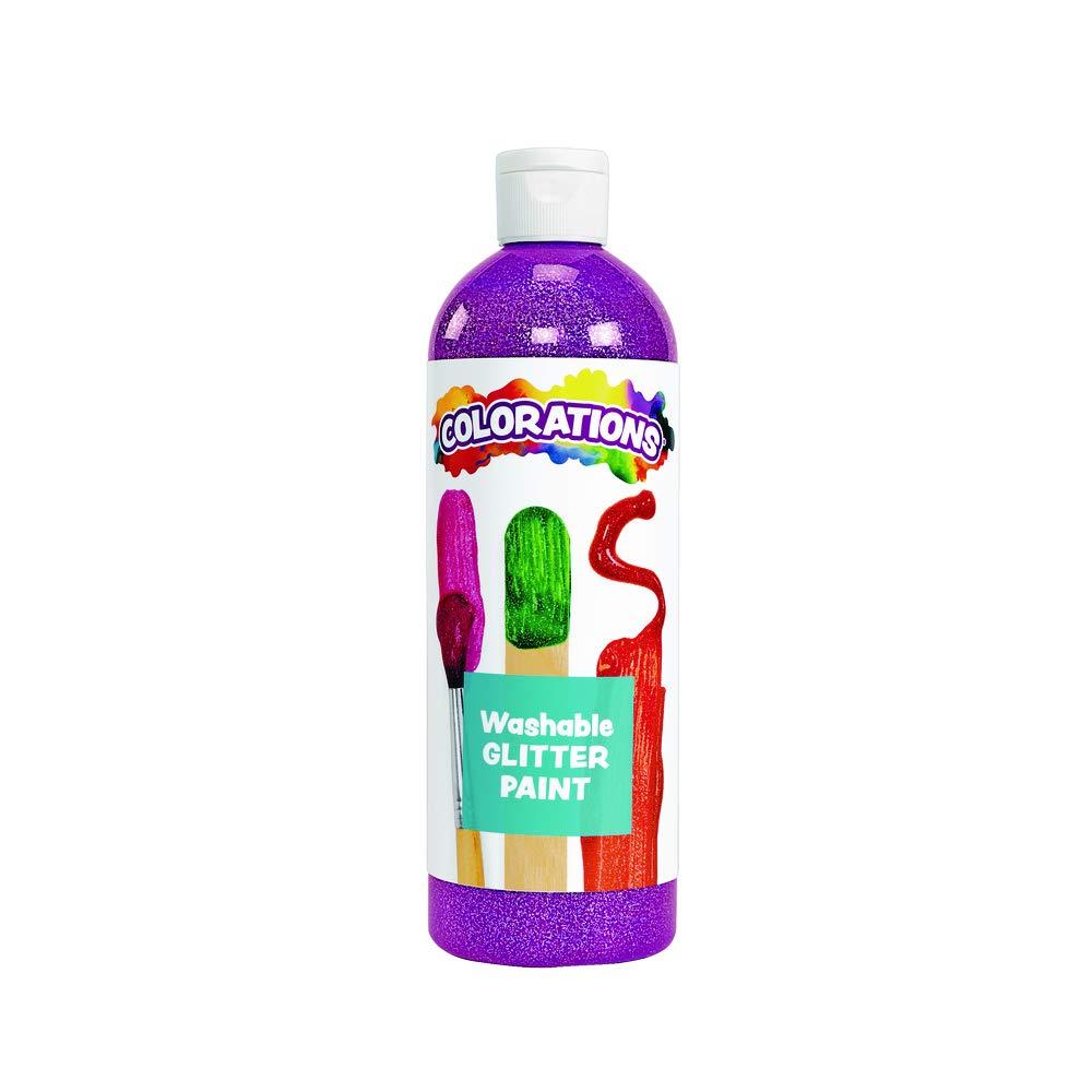 Colorations Washable Glitter Paint Purple (16 oz) - $3.99 + FS at Amazon