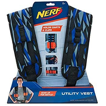 Nerf Elite Utility Vest, Tiger Pattern - $4.38 at Amazon
