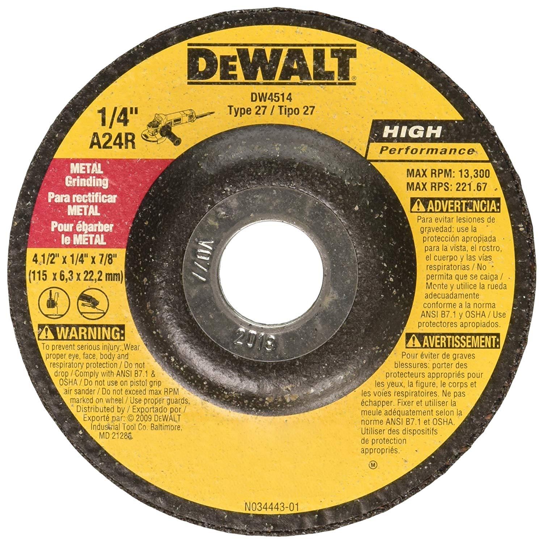 DEWALT Metal Grinding Wheels starting at $1.83 + FS at Amazon