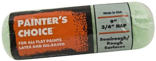 Wooster Brush R277-9 Painter's Choice Roller Cover, 3/4-Inch Nap, 9-Inch $1.59