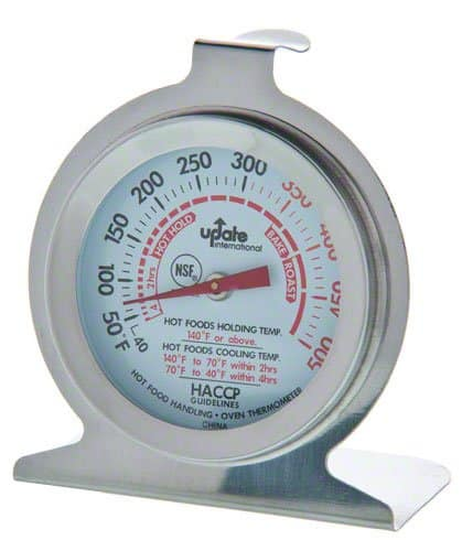 Update International 2 in. Oven Thermometer - $2.08 at Amazon + free shipping with prime