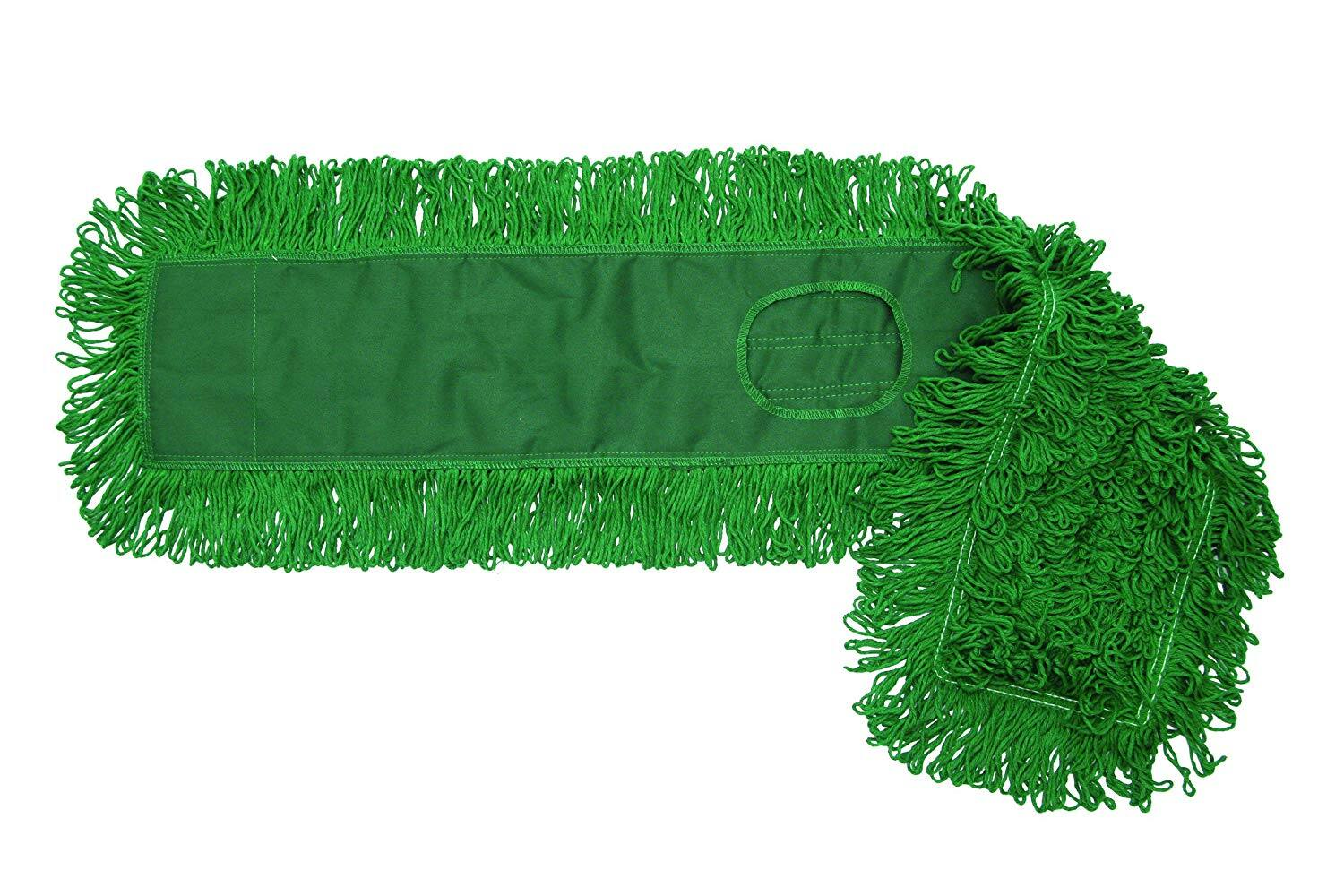 "O'Cedar Commercial 96918 MaxiDust Loop-End Mop, 18"", Green (Pack of 12) - $36.52 at Amazon"