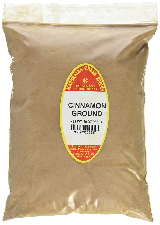 Marshalls Creek Spices Kosher Cinnamon Ground Refill, 20 Ounce - $19.89 at Amazon