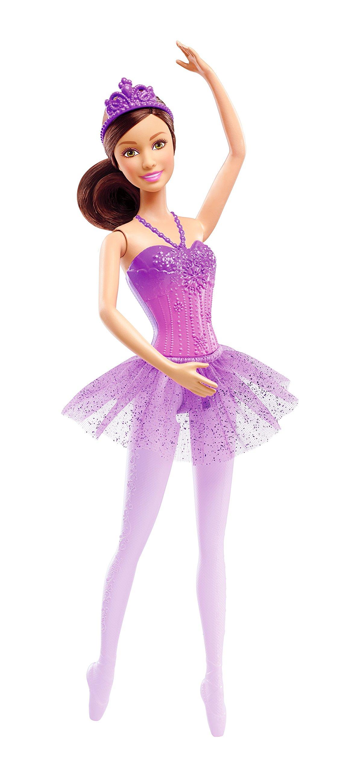 Barbie Fairytale Ballerina Doll, Purple - $4.94 at Amazon