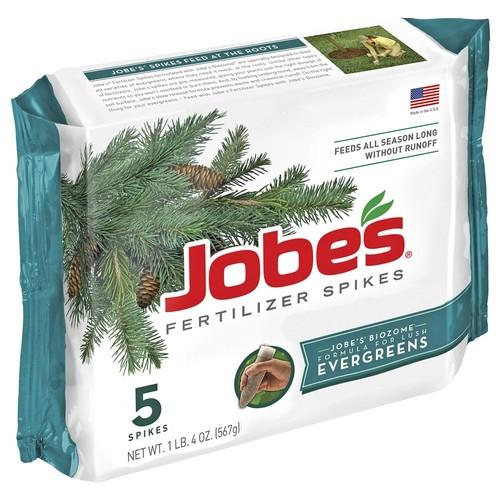Jobe's Evergreen Fertilizer Spikes, 5 Spikes - $2.58 at Amazon