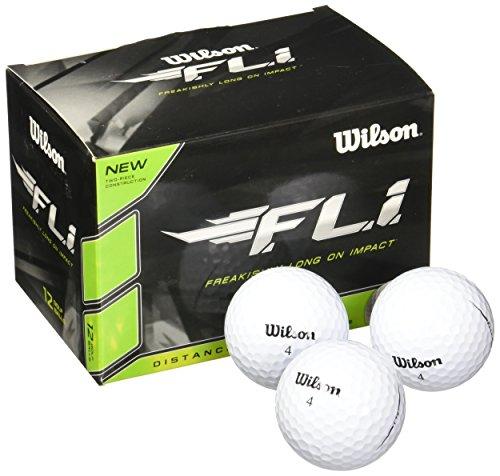 Wilson Staff F.L.I. Golf Balls (Pack of 12) - $4.99 at Amazon