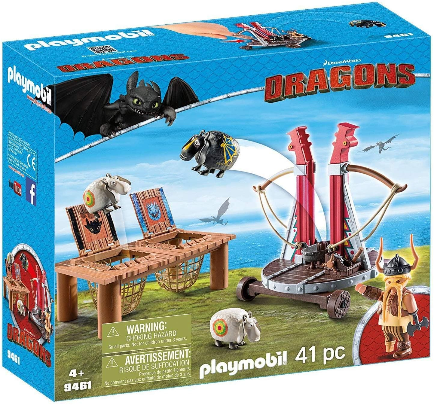 Playmobil How to Train Your Dragon Gobber The Belch with Sheep Sling - $15.75 at Amazon