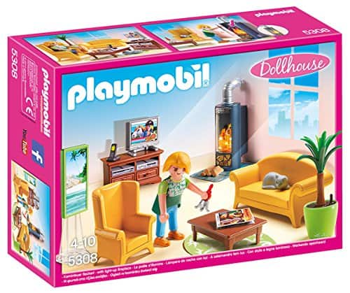 PLAYMOBIL Living Room with Fireplace - $12.99 at Amazon