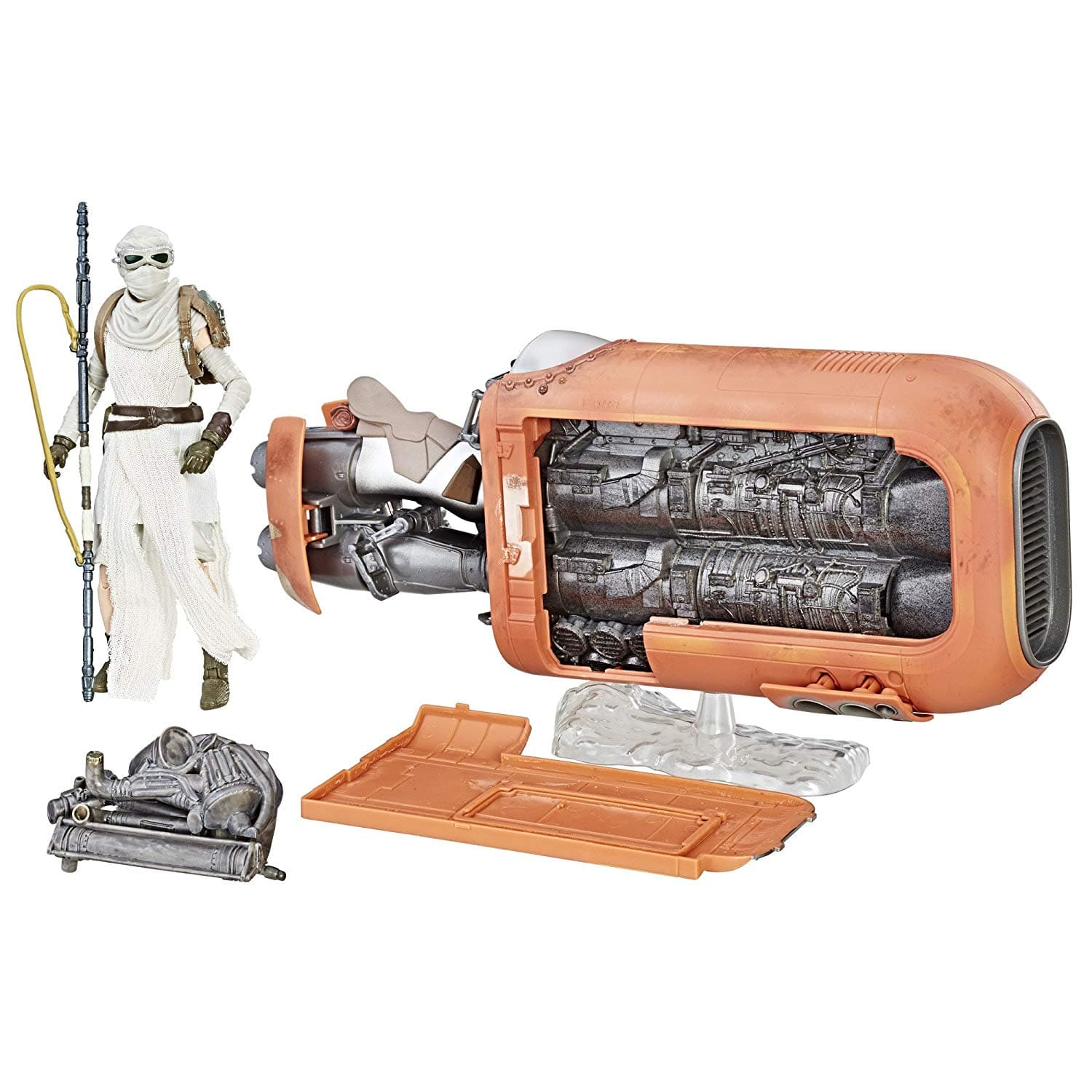 Star Wars The Black Series Rey's Speeder (Jakku) and Figure - $14.98 at Amazon