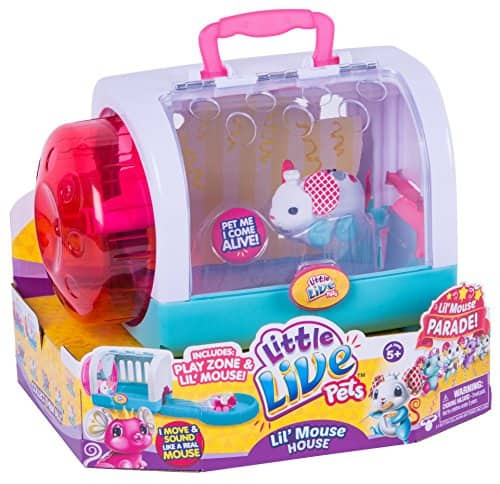 Little Live Pets Lil' Mouse House - Twitchy - $16.24 at Amazon