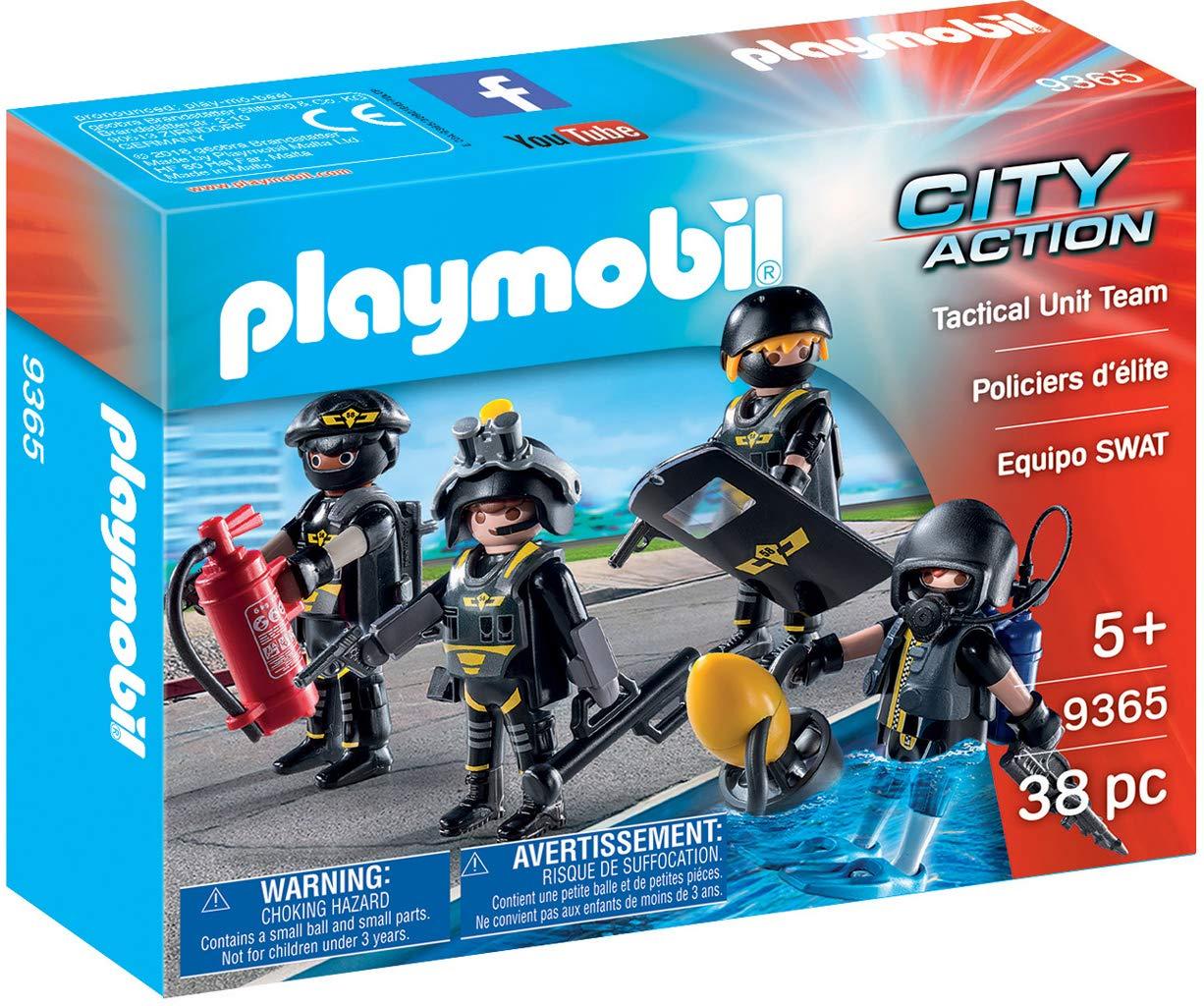Playmobil Tactical Unit Team - $7.49 at Amazon