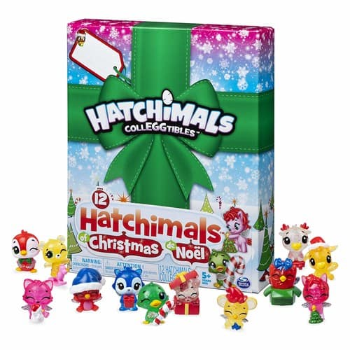 Hatchimals CollEGGtibles, 12 of Christmas Surprise Gift Set, for Kids Aged 5 and Up - $16.99 at Amazon