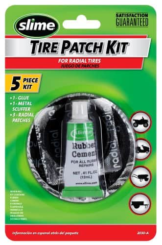 Slime 2030-A Tire Patch Kit with Glue - $1.41 at Amazon + free shipping with prime