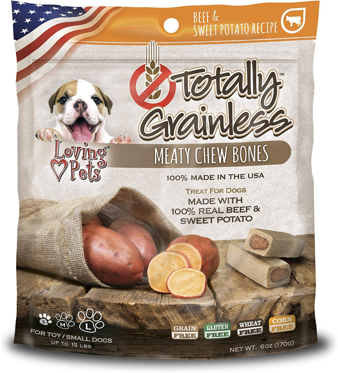 Loving Pets Totally Grainless for Dogs, 6 oz - $1.77 at Amazon + free shipping with prime