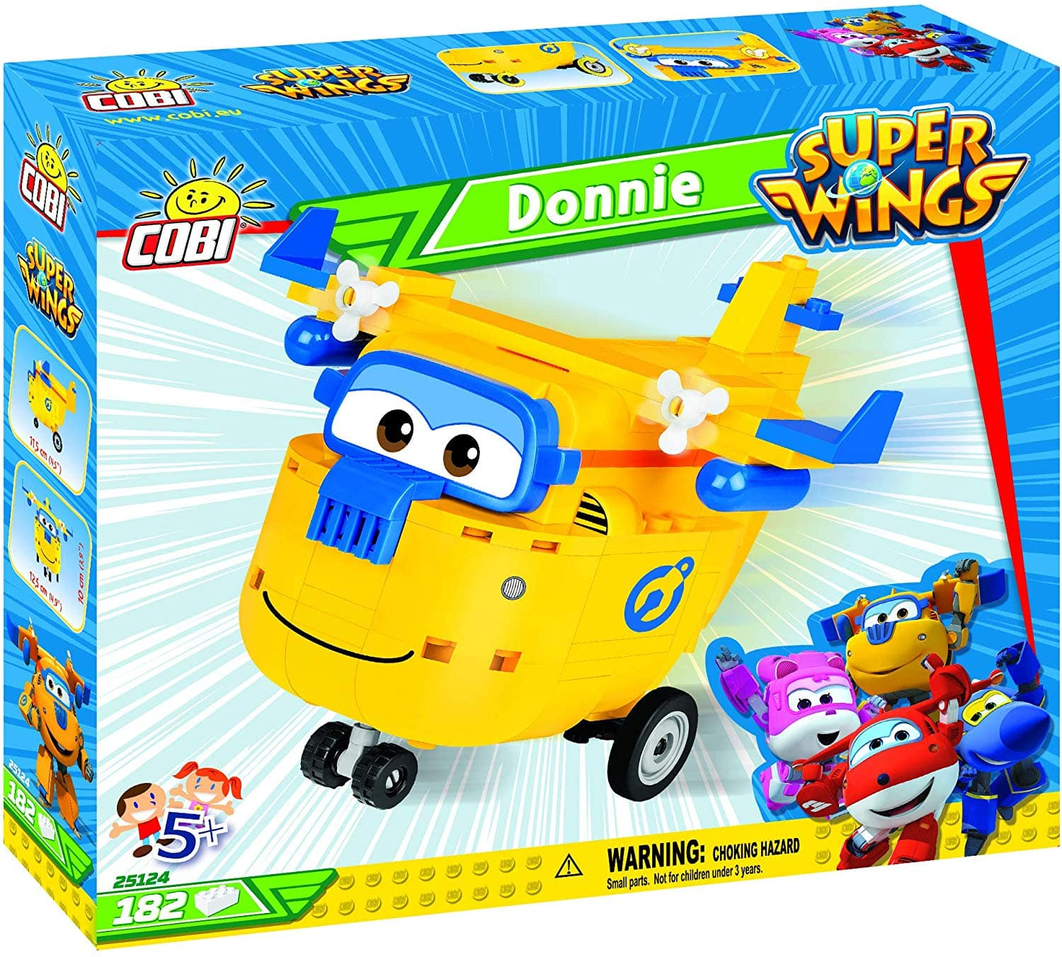 COBI Super Wings, Donnie - $7.11 at Amazon + free shipping with prime