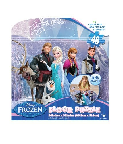 Frozen Floor Puzzles (46-Piece) - $11.99 at Amazon + free shipping with prime