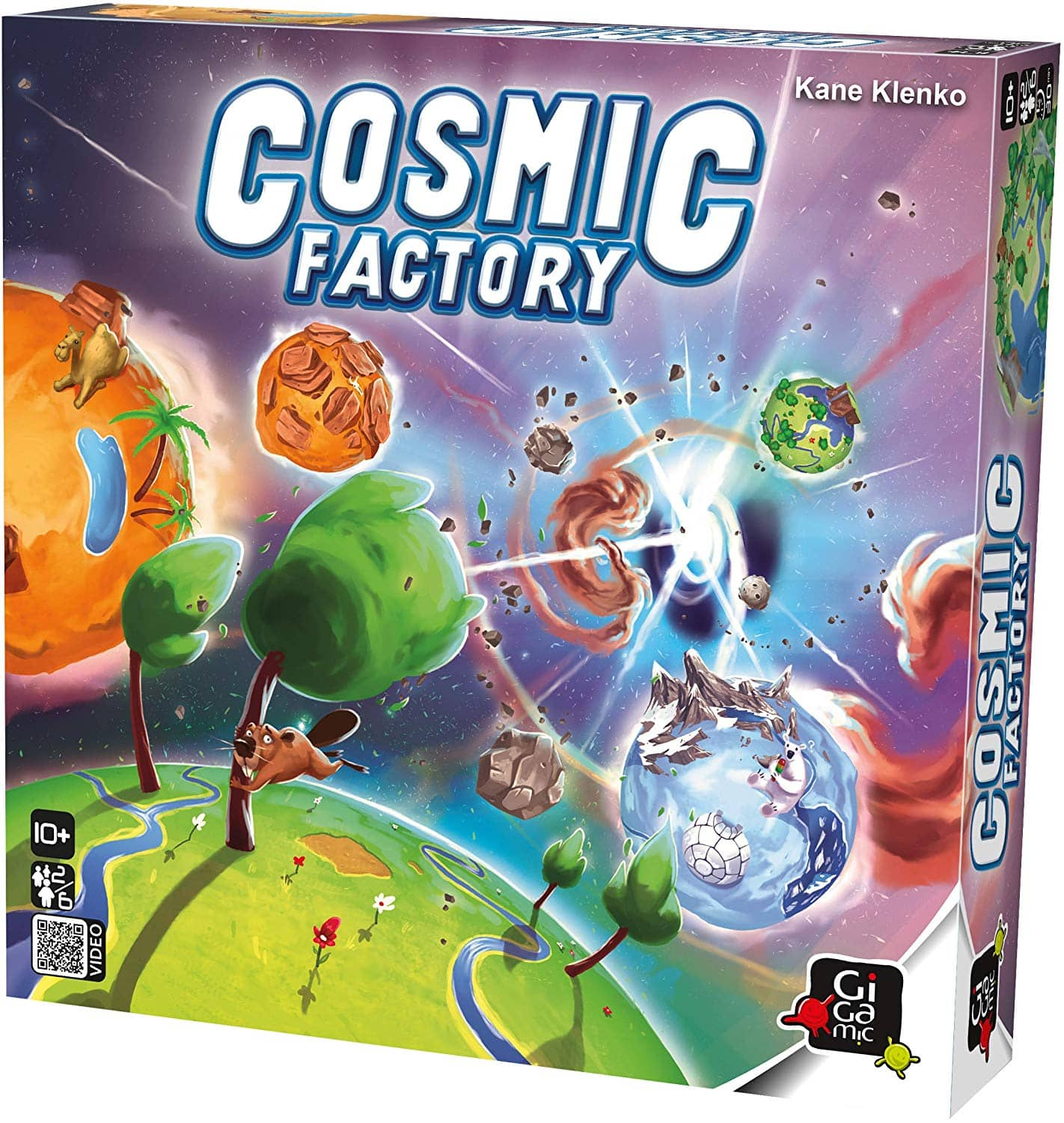 Gigamic - Cosmic Factory - $14.04 at Amazon + free shipping with prime