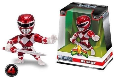 "Jada Limited Edition 4"" METALFIGS - Power Rangers - RED Ranger M334 99270 - $11.00 at Amazon + free shipping with prime"