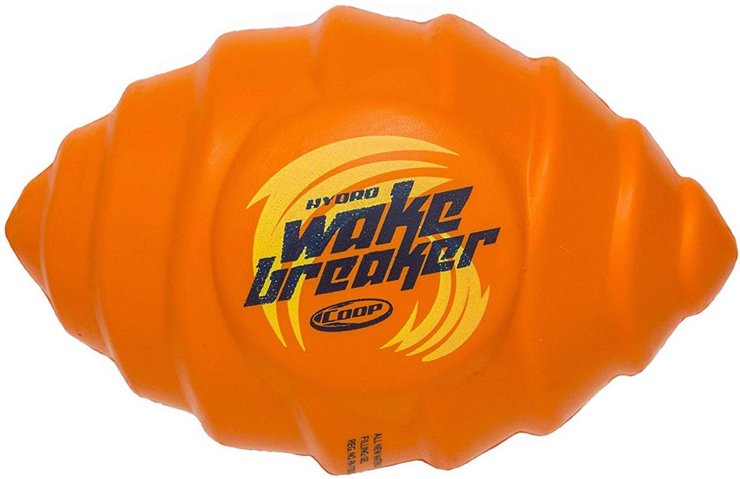 Coop Hydro Wake Breaker Football, Orange - $7.00 at Amazon + free shipping with prime