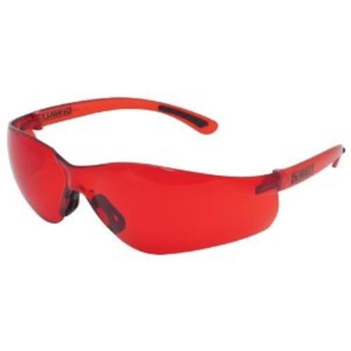 DEWALT Laser Enhancement Glasses, Red - $5.99 at Amazon + FS with Prime