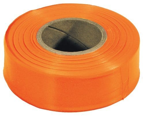 IRWIN Tools STRAIT-LINE Flagging Tape, 300-foot, Orange (65902) - $1.53 at Amazon + FS with Prime