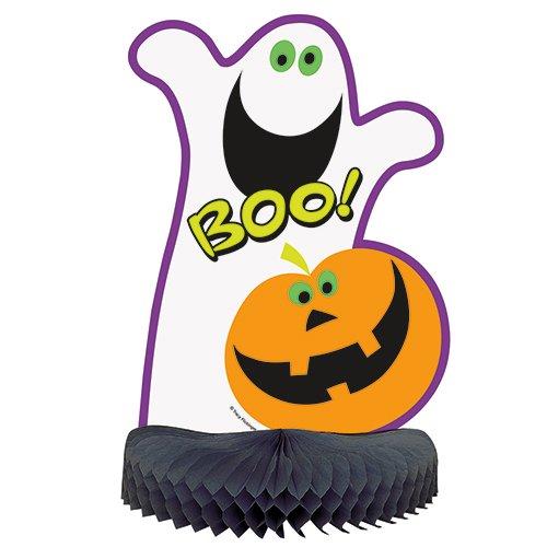 "14"" Pumpkin Boo Halloween Centerpiece Decoration - $0.80 at Amazon + FS with Prime"