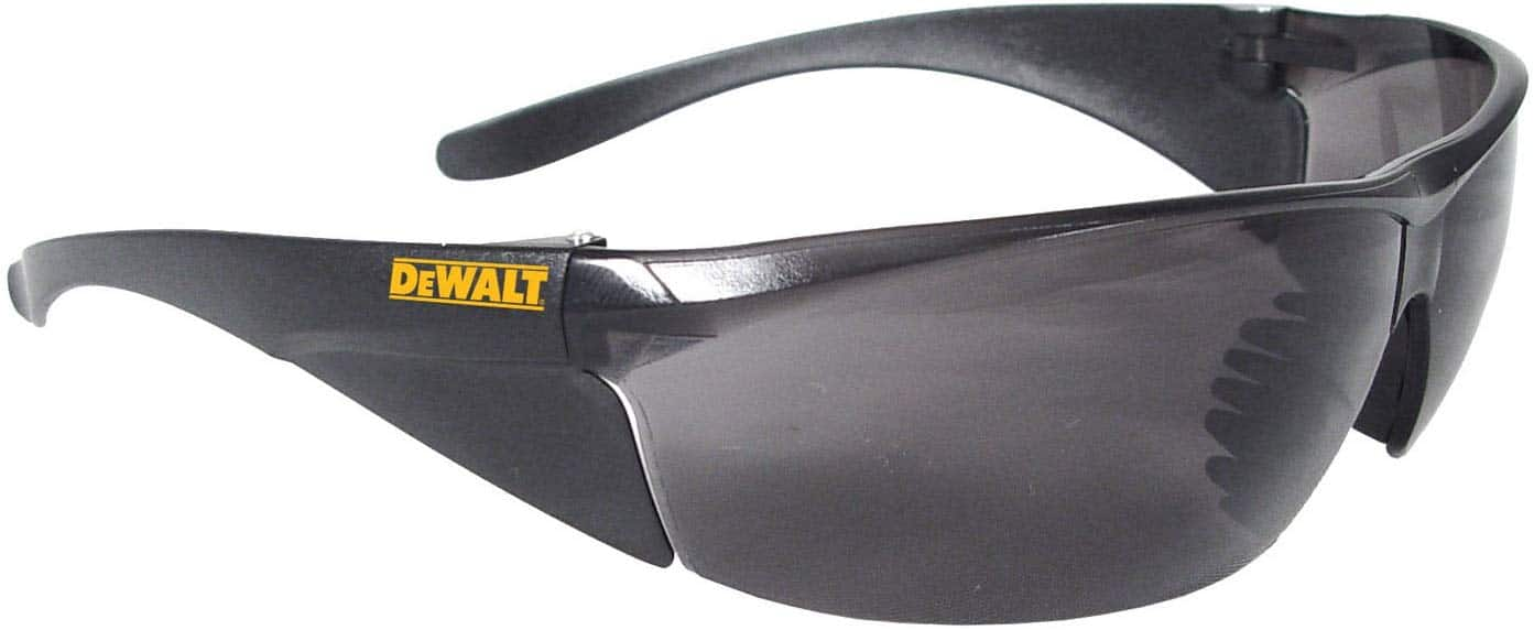 DeWALT Structure Safety Glasses with Smoke Lens $2.60