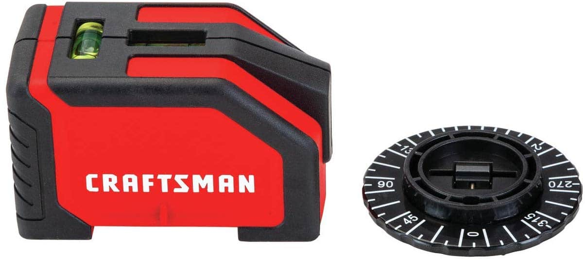 CRAFTSMAN Laser Level, 10-foot Range (CMHT77634) - $14.98 at Amazon + FS with Prime (and lowes)