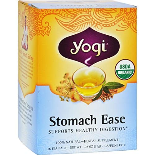 Yogi Teas - Stomach Ease Tea 16 Bag - $3.98 at Amazon + FS with Prime