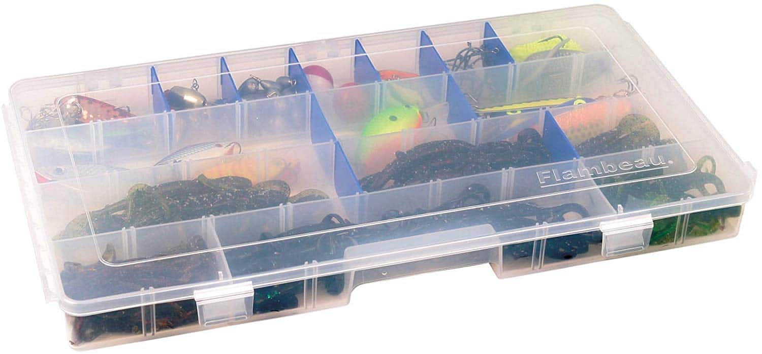 Flambeau 6004R Tuff Tainer - 32 Compartments with 16 Zerust Dividers for $7.35 + free shipping with Prime