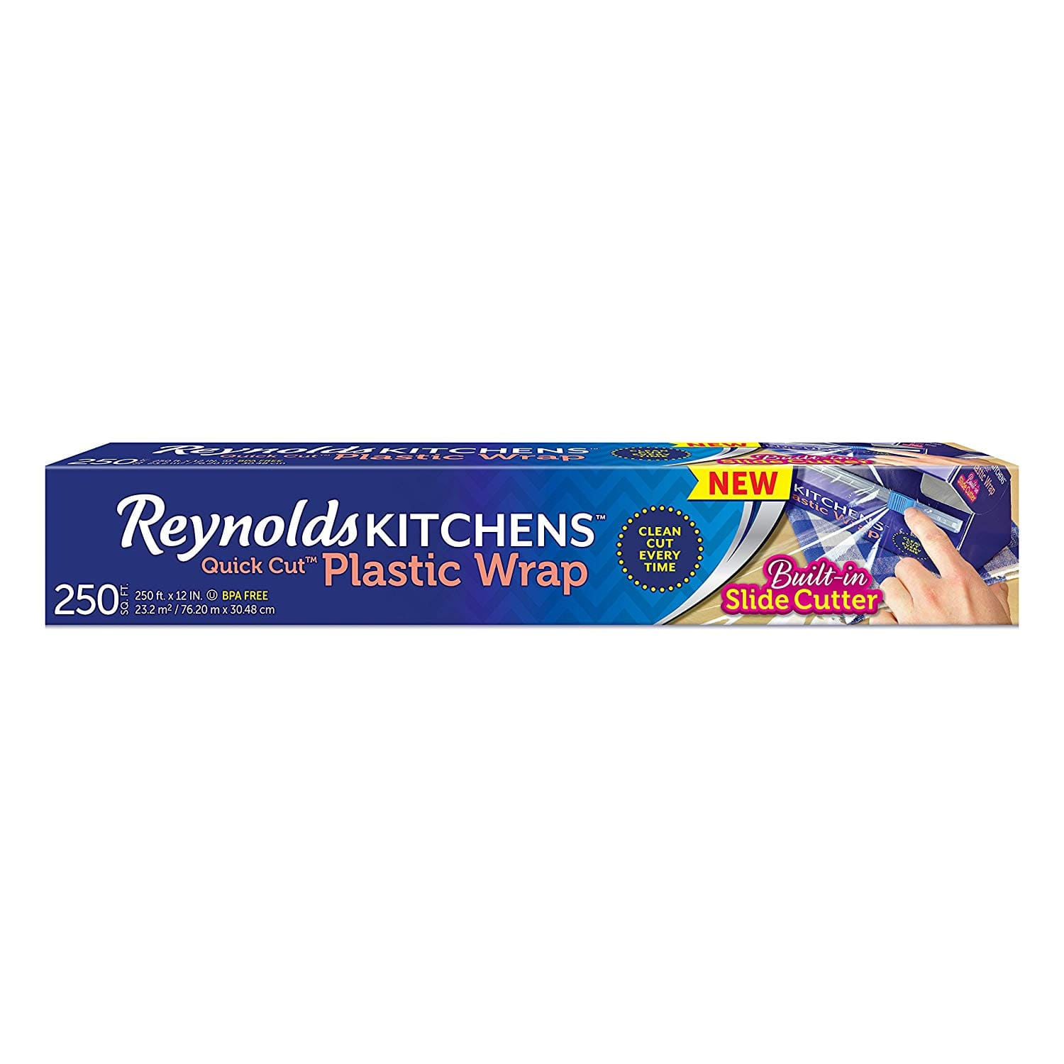 250 Sq.Ft. Reynolds Kitchens Quick Cut Plastic Wrap - $2.59 AC and Subscribe and Save at Amazon