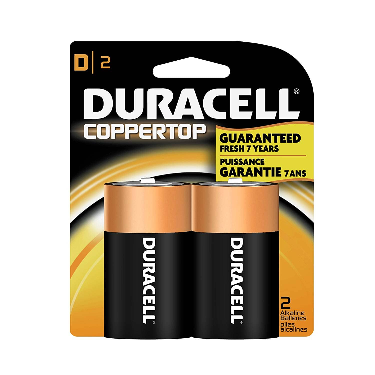 Duracell D Batteries - 2 Count - $2.87 at Amazon