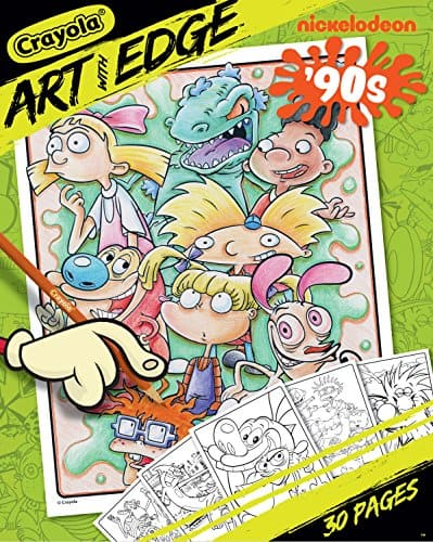 Crayola Art with Edge Nickelodeon Coloring Book - $1.50 at Amazon + FS with Prime